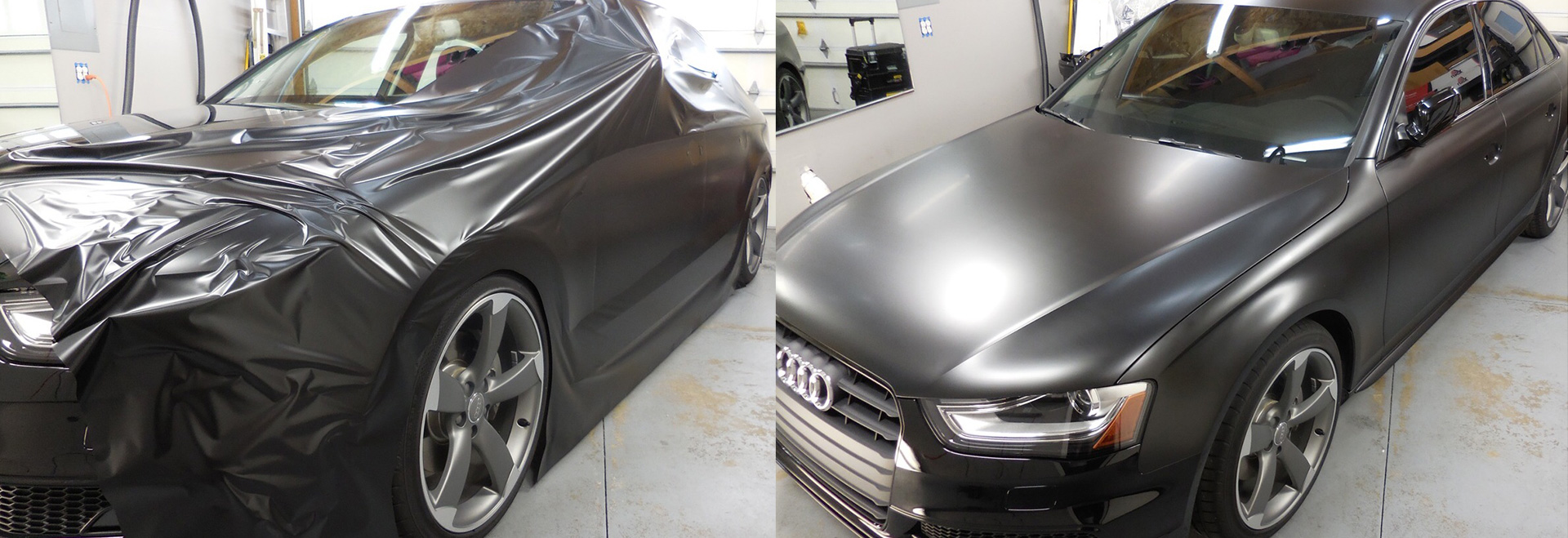 Vehicle Wraps And Graphic Film Fade To Black Protective Films