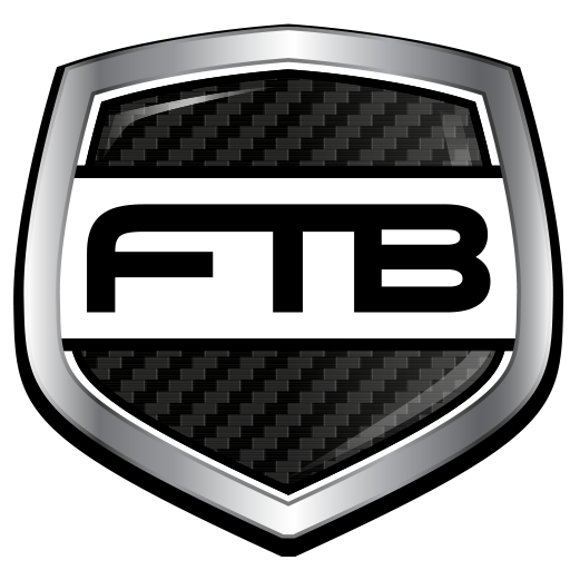FTB Shield Icon Carbon Fiber